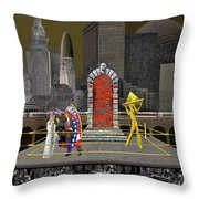 To Whom We Serve Throw Pillow