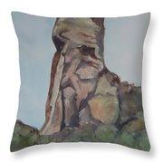 Toad Rock Throw Pillow