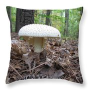 Toad Stool V Throw Pillow
