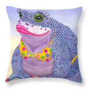 Toadaly Beautiful Throw Pillow