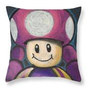 Toadette Throw Pillow