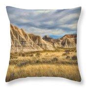 Toadstool Geologic Park Throw Pillow