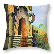 National Tobacco Company Napier Throw Pillow