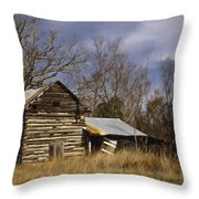 Tobacco Road Throw Pillow by Benanne Stiens