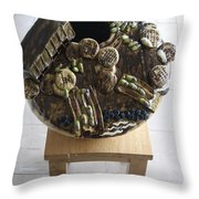 Tobacco Trials View 3 Throw Pillow