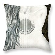 Tocar Mi Amor Throw Pillow