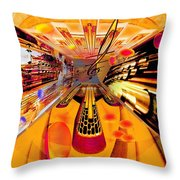 Toccata- Masters View Throw Pillow