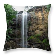 Toccoa Falls Throw Pillow
