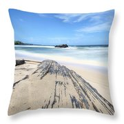 Toco Beach Throw Pillow