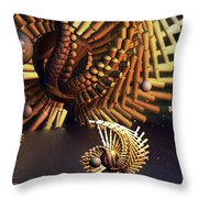 Otctopeds...an Evening Swim Throw Pillow