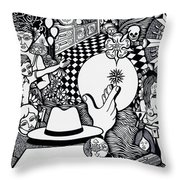 Today I No More Have Birthdays Throw Pillow