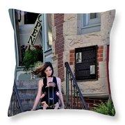 Todays Art 1309 Throw Pillow