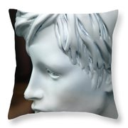 Today's Thoughts Throw Pillow