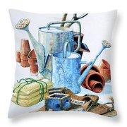Todays Toil Tomorrows Pleasure Iv Throw Pillow
