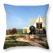 Todd Prayer Chapel Throw Pillow