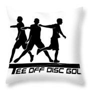 Todg Black Logo Throw Pillow