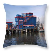 Tofino On The West Coast Of Vancouver Island Throw Pillow