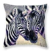 Together Throw Pillow by Arline Wagner