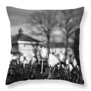 Together Bw Throw Pillow