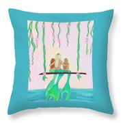 Together Fun Throw Pillow