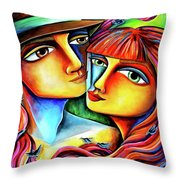 Together In Love Throw Pillow