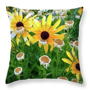 Together In The Morning  Throw Pillow