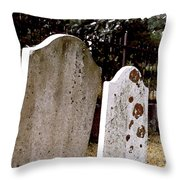 Together Through Time Throw Pillow