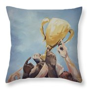 Together We Can Throw Pillow
