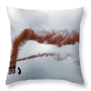 Together We Fall Throw Pillow