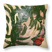 Toke 2 - Tile Throw Pillow