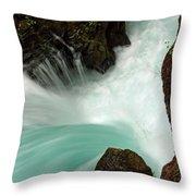 Toketee Falls 3 Throw Pillow