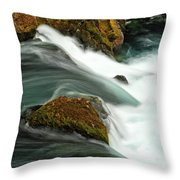 Toketee Falls 5 Throw Pillow