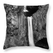 Toketee Falls Throw Pillow