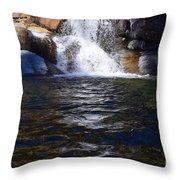 Tokopah Falls Trail Throw Pillow