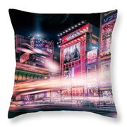 Tokyo 3017 #2 Throw Pillow