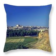 Toledo City Throw Pillow