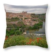 Toledo City, Spain Throw Pillow