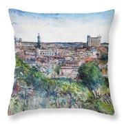 Toledo Spain 2016 Throw Pillow