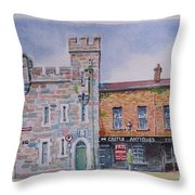 Toll House  Limerick Throw Pillow