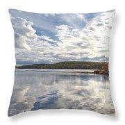 Tolland Lake Two Throw Pillow