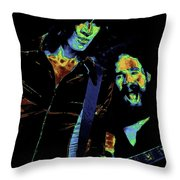 Tom And Brad In Spokane 2 Throw Pillow