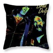Tom And Brad In Spokane 3 Throw Pillow