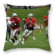 Tom Brady 2004  Throw Pillow