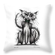 Tom Cat Throw Pillow