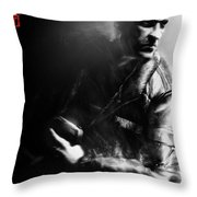 Tom Clancy's Splinter Cell Double Agent Throw Pillow