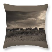 Tom Horn Set In Profile Mescal Arizona 1980 Throw Pillow