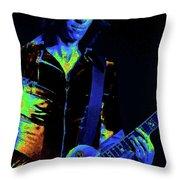 Cosmic Guitar 3 Throw Pillow