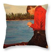 Tom Thompson In Colour Throw Pillow