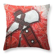 Tomahawk Throw Pillow
