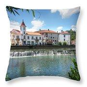 Tomar Cityscape Throw Pillow